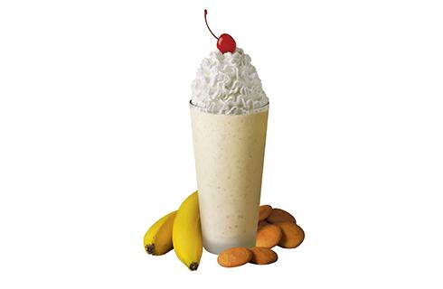 Коктейль из кефира и бананов