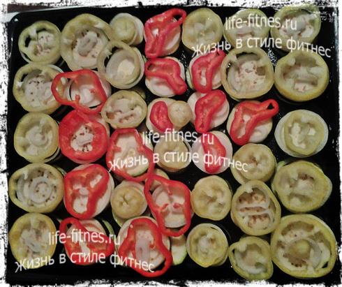 кабачки и баклажаны в духовке