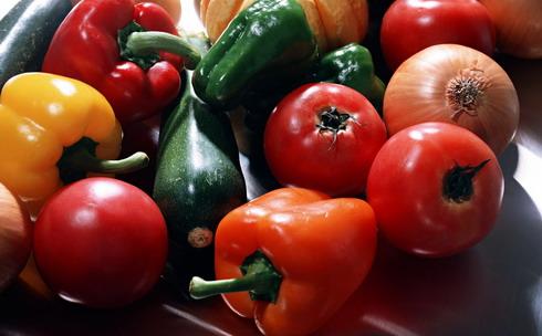 Овощная запеканка из кабачков и баклажанов